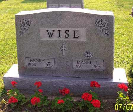 WISE, HENRY L. - Stark County, Ohio | HENRY L. WISE - Ohio Gravestone Photos