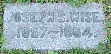 WISE, JOSEPH S. - Stark County, Ohio | JOSEPH S. WISE - Ohio Gravestone Photos