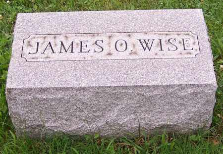 WISE, JAMES O. - Stark County, Ohio | JAMES O. WISE - Ohio Gravestone Photos