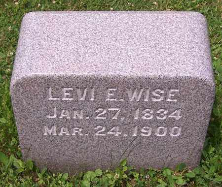 WISE, LEVI E. - Stark County, Ohio | LEVI E. WISE - Ohio Gravestone Photos