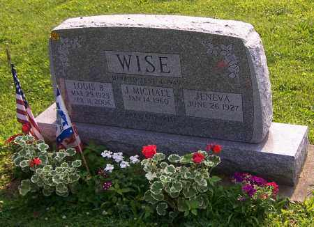 WISE, LOUIS B. - Stark County, Ohio | LOUIS B. WISE - Ohio Gravestone Photos