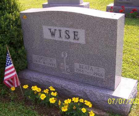 WISE, LOREN H. - Stark County, Ohio | LOREN H. WISE - Ohio Gravestone Photos