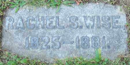 WISE, RACHEL S. - Stark County, Ohio | RACHEL S. WISE - Ohio Gravestone Photos