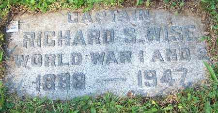 WISE, RICHARD S. - Stark County, Ohio | RICHARD S. WISE - Ohio Gravestone Photos