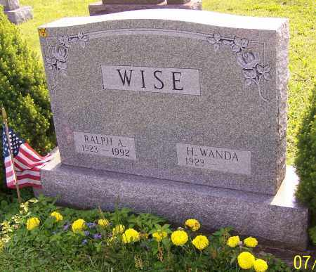 WISE, H.WANDA - Stark County, Ohio | H.WANDA WISE - Ohio Gravestone Photos