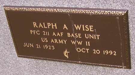 WISE, RALPH A.  (MIL) - Stark County, Ohio | RALPH A.  (MIL) WISE - Ohio Gravestone Photos