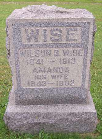 WISE, WILSON S. - Stark County, Ohio | WILSON S. WISE - Ohio Gravestone Photos