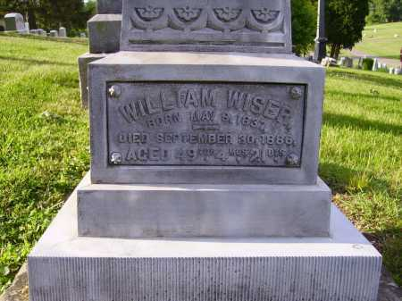 WISER, WILLIAM - CLOSEVIEW - Stark County, Ohio | WILLIAM - CLOSEVIEW WISER - Ohio Gravestone Photos