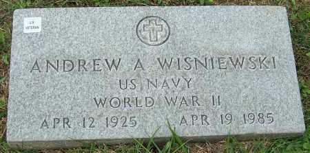 WISNIEWSKI, ANDREW A. - Stark County, Ohio | ANDREW A. WISNIEWSKI - Ohio Gravestone Photos