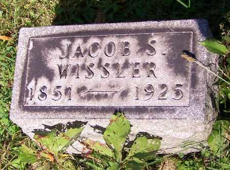 WISSLER, JACOB S. - Stark County, Ohio | JACOB S. WISSLER - Ohio Gravestone Photos