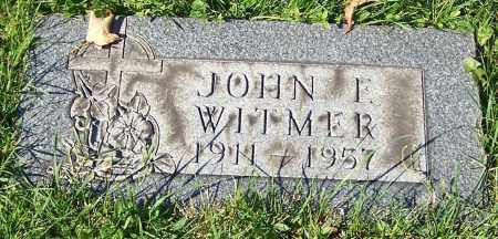 WITMER, JOHN F. - Stark County, Ohio | JOHN F. WITMER - Ohio Gravestone Photos