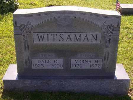 WITSAMAN, DALE O. - Stark County, Ohio | DALE O. WITSAMAN - Ohio Gravestone Photos