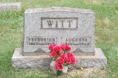 WITT, FREDERICK - Stark County, Ohio | FREDERICK WITT - Ohio Gravestone Photos