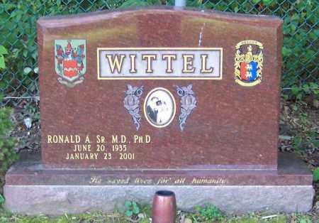 WITTEL, RONALD A. (SR) M.D. PH.D. - Stark County, Ohio | RONALD A. (SR) M.D. PH.D. WITTEL - Ohio Gravestone Photos