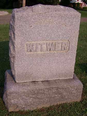WITWER, FAMILY - Stark County, Ohio | FAMILY WITWER - Ohio Gravestone Photos