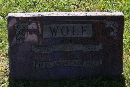 WOLF, CHARLES D. - Stark County, Ohio | CHARLES D. WOLF - Ohio Gravestone Photos
