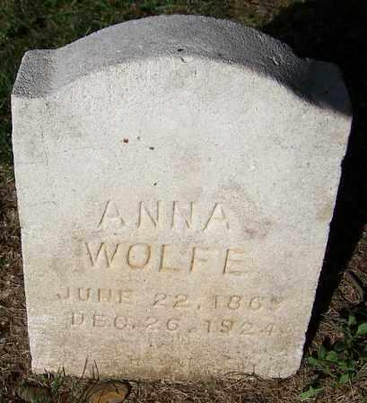 WOLFE, ANNA - Stark County, Ohio | ANNA WOLFE - Ohio Gravestone Photos