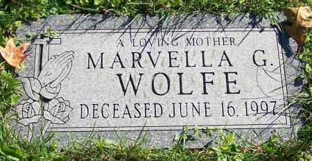 WOLFE, MARVELLA G. - Stark County, Ohio | MARVELLA G. WOLFE - Ohio Gravestone Photos
