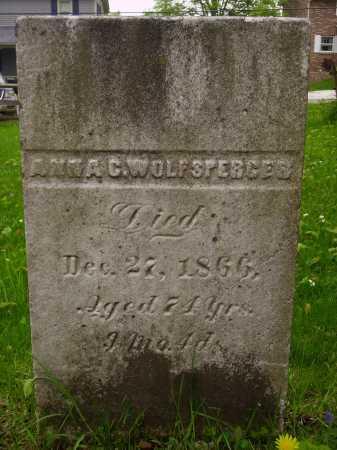 WOLFSPERGES, ANNA - Stark County, Ohio | ANNA WOLFSPERGES - Ohio Gravestone Photos