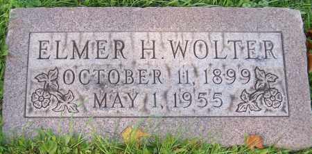 WOLTER, ELMER H. - Stark County, Ohio | ELMER H. WOLTER - Ohio Gravestone Photos