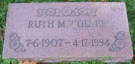 WOLTER, RUTH M. - Stark County, Ohio | RUTH M. WOLTER - Ohio Gravestone Photos