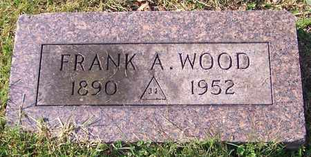 WOOD, FRANK A. - Stark County, Ohio | FRANK A. WOOD - Ohio Gravestone Photos