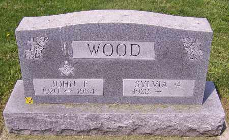 WOOD, SYLVIA A. - Stark County, Ohio | SYLVIA A. WOOD - Ohio Gravestone Photos