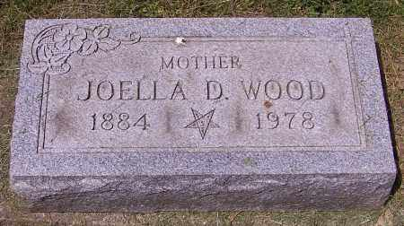 WOOD, JOELLA D. - Stark County, Ohio | JOELLA D. WOOD - Ohio Gravestone Photos