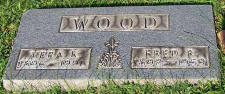 WOOD, VERA K. - Stark County, Ohio | VERA K. WOOD - Ohio Gravestone Photos