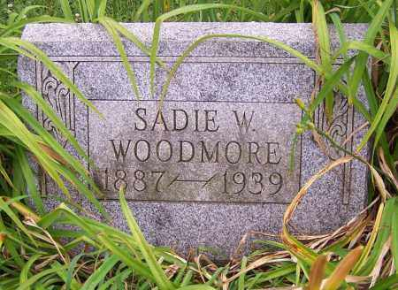WOODMORE, SADIE W. - Stark County, Ohio | SADIE W. WOODMORE - Ohio Gravestone Photos