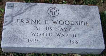 WOODSIDE, FRANK E. - Stark County, Ohio | FRANK E. WOODSIDE - Ohio Gravestone Photos