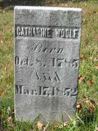 WOOLF, CATHARINE - Stark County, Ohio | CATHARINE WOOLF - Ohio Gravestone Photos