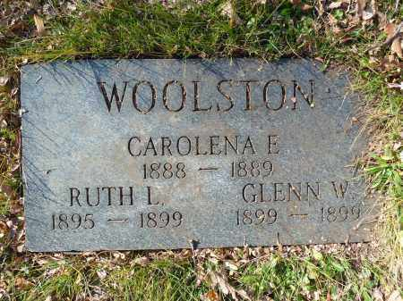 WOOLSTON, CAROLENA E. - Stark County, Ohio | CAROLENA E. WOOLSTON - Ohio Gravestone Photos