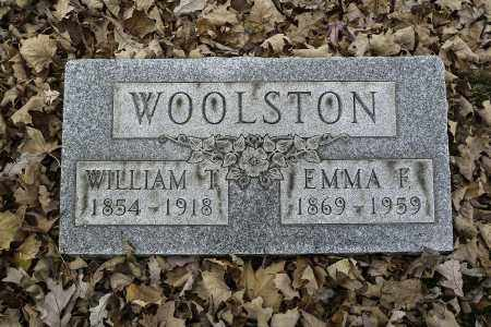 WOOLSTON, WILLIAM T - Stark County, Ohio | WILLIAM T WOOLSTON - Ohio Gravestone Photos