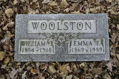 WOOLSTON, EMMA F - Stark County, Ohio | EMMA F WOOLSTON - Ohio Gravestone Photos