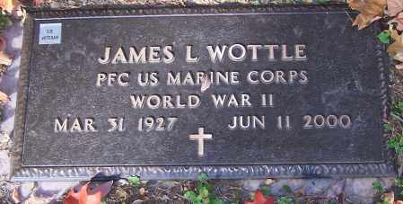 WOTTLE, JAMES L.  (MIL) - Stark County, Ohio | JAMES L.  (MIL) WOTTLE - Ohio Gravestone Photos