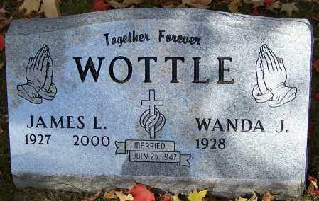 WOTTLE, JAMES L. - Stark County, Ohio | JAMES L. WOTTLE - Ohio Gravestone Photos