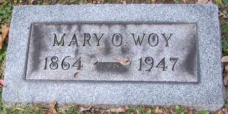 WOY, MARY O. - Stark County, Ohio | MARY O. WOY - Ohio Gravestone Photos