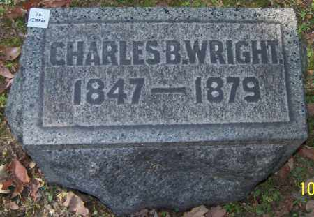 WRIGHT, CHARLES B. - Stark County, Ohio | CHARLES B. WRIGHT - Ohio Gravestone Photos