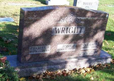WRIGHT, CHARLES H. - Stark County, Ohio | CHARLES H. WRIGHT - Ohio Gravestone Photos