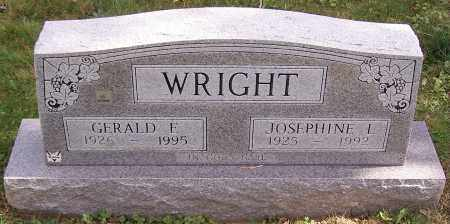 WRIGHT, GERALD E. - Stark County, Ohio | GERALD E. WRIGHT - Ohio Gravestone Photos
