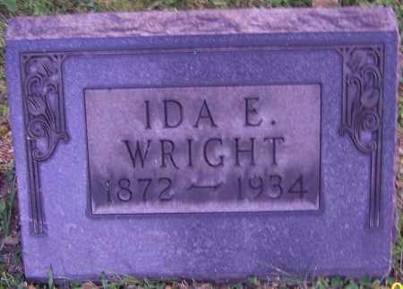 WRIGHT, IDA E. - Stark County, Ohio | IDA E. WRIGHT - Ohio Gravestone Photos