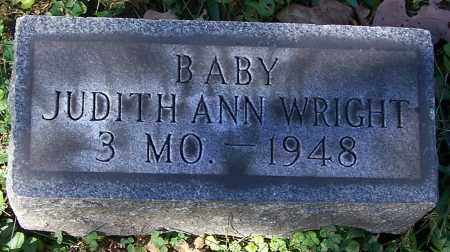 WRIGHT, JUDITH ANN  (BABY) - Stark County, Ohio | JUDITH ANN  (BABY) WRIGHT - Ohio Gravestone Photos