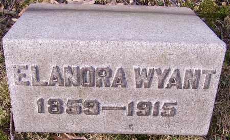 WYANT, ELANORA - Stark County, Ohio | ELANORA WYANT - Ohio Gravestone Photos