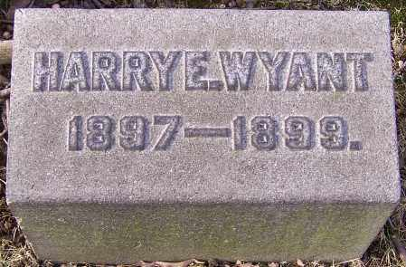 WYANT, HARRY E. - Stark County, Ohio | HARRY E. WYANT - Ohio Gravestone Photos