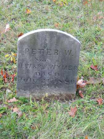WYMER, PETER W - Stark County, Ohio | PETER W WYMER - Ohio Gravestone Photos