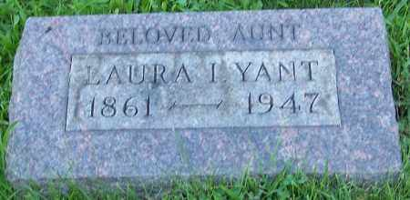 YANT, LAURA I. - Stark County, Ohio | LAURA I. YANT - Ohio Gravestone Photos