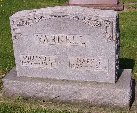 YARNELL, MARY G. - Stark County, Ohio | MARY G. YARNELL - Ohio Gravestone Photos