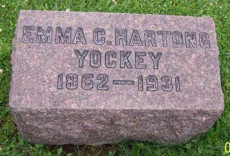 YOCKEY, EMMA C.HARTONG - Stark County, Ohio | EMMA C.HARTONG YOCKEY - Ohio Gravestone Photos