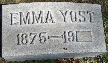 YOST, EMMA - Stark County, Ohio | EMMA YOST - Ohio Gravestone Photos